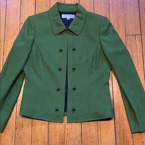 Retro Green Arthur Levine Tahari blazer
